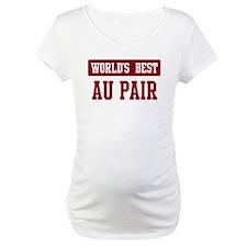Worlds best Au Pair Shirt