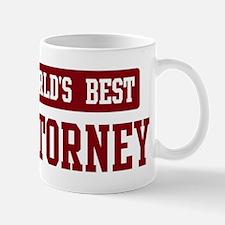 Worlds best Attorney Mug