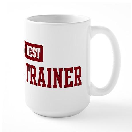Worlds best Athletic Trainer Large Mug
