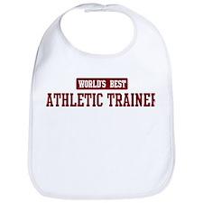 Worlds best Athletic Trainer Bib