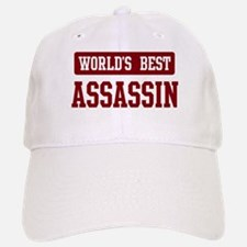 Worlds best Assassin Baseball Baseball Cap
