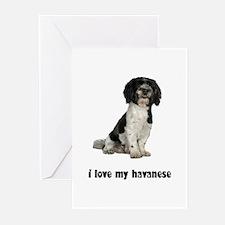 Havanese Love Greeting Cards (Pk of 10)