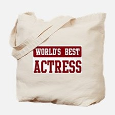 Worlds best Actress Tote Bag