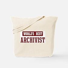Worlds best Archivist Tote Bag