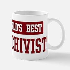 Worlds best Archivist Mug