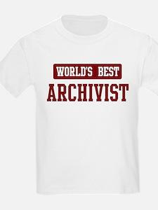 Worlds best Archivist T-Shirt