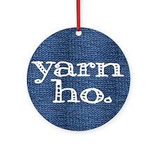 Yarn Ho Ornament (Round)