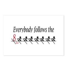 """Everbody follows the 8 Seat"" Postcards (Package o"