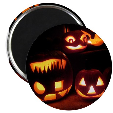 "Halloween Tricks and Treats 2.25"" Magnet (10 pack)"