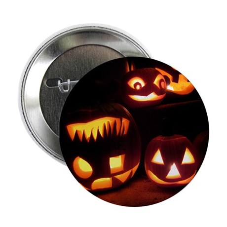 "Halloween Tricks and Treats 2.25"" Button"