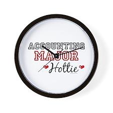 Accounting Major Hottie Wall Clock