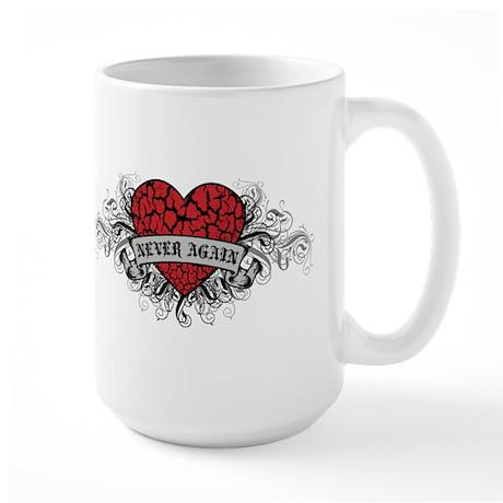 Never Again Large Mug