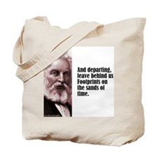 "Longfellow ""Departing"" Tote Bag"