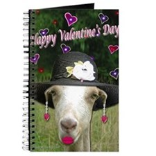 Ruby the Valentine Goat Journal