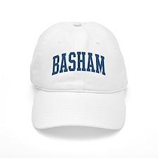 Basham Collegiate Style Name Baseball Cap