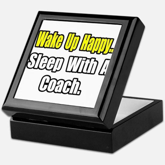 """..Sleep With a Coach"" Keepsake Box"