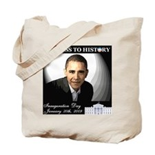 Obama Over WhiteHouse Tote Bag