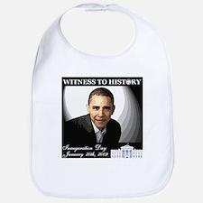 Obama Over WhiteHouse Bib