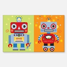 Robot Rectangle Decal