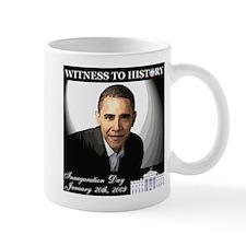 Obama Over WhiteHouse Mug
