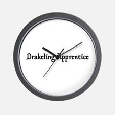 Drakeling Apprentice Wall Clock