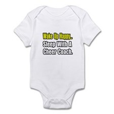 """..Sleep w/ Cheer Coach"" Infant Bodysuit"