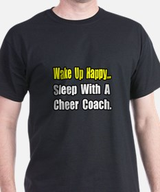 """..Sleep w/ Cheer Coach"" T-Shirt"