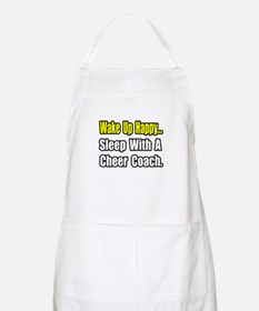 """..Sleep w/ Cheer Coach"" BBQ Apron"