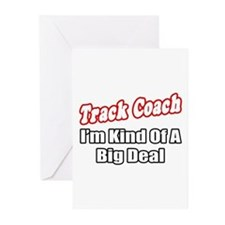"""Track Coach...Big Deal"" Greeting Cards (Pk of 10)"
