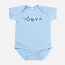 Wineaux gl blue Infant Bodysuit