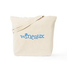 Wineaux gl blue Tote Bag