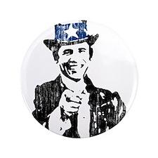 """Unique President 3.5"""" Button (100 pack)"""
