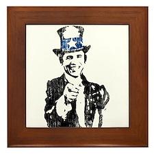 Uncle Obama Framed Tile