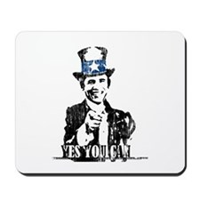 "Uncle Obama ""Yes You Can"" Mousepad"