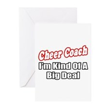 """Cheer Coach...Big Deal"" Greeting Cards (Pk of 10)"