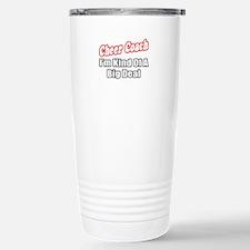"""Cheer Coach...Big Deal"" Travel Mug"