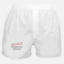 """Cheer Coach...Big Deal"" Boxer Shorts"