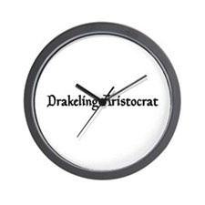 Drakeling Aristocrat Wall Clock