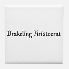 Drakeling Aristocrat Tile Coaster