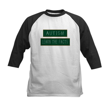 Autism: Learn The Facts Kids Baseball Jersey