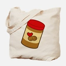 Jar of Peanut Butter Tote Bag