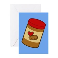 Jar of Peanut Butter Greeting Cards (Pk of 10)