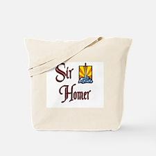 Sir Homer Tote Bag