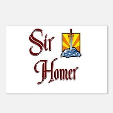 Sir Homer Postcards (Package of 8)