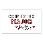 Economics Major Hottie Rectangle Sticker 50 pk)