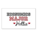 Economics Major Hottie Rectangle Sticker