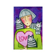 CUPID KITTY No.2...Bulk Magnets-no text (10 pack)