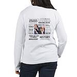 Hope Won/Dream to History Women's Long Sleeve T-Sh