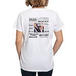 Hope Won/Dream to History Women's V-Neck T-Shirt