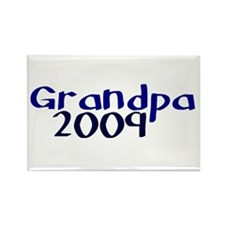 Grandpa 2009 Rectangle Magnet